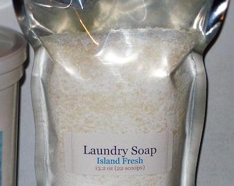 Laundry Soap - Sea Breeze scented - 13.2 oz