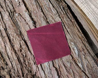 Burgundy Waxed Canvas - 10.10 oz. - Ship Free within the United States