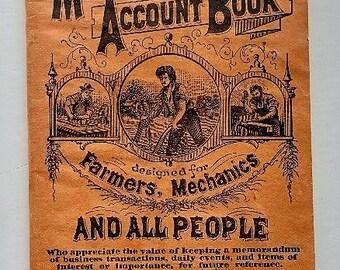 1900/1901 Blank Pocket Diary