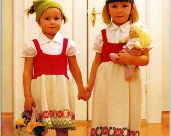 Dalebarn #134 - Dale of Norway Knitting Pattern Book for Boys & Girls 1 - 12 yrs