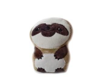 Sloth | Plush Sloth Toy | Stuffed Sloth | Sloth Pillow | Nursery Decor | New Baby Gift | Baby Shower Gift | Nerd Gift | Sloth Toy