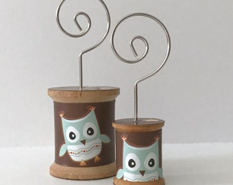 Owl on Brown - Cool Spools