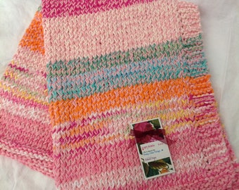 Nellie Girl Ultimate Pure Cotton Baby Blanket