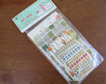 1970s Vintage Paper Giftbags - All Occasions Giftwrap NIP