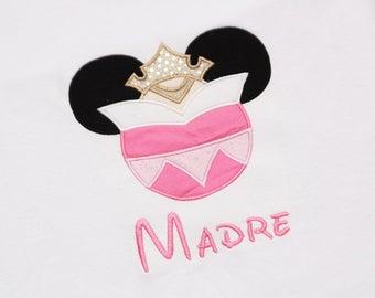 Sleepy Princess Mouse Ears Shirt