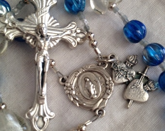 Two Hearts, Sacred Heart of Jesus and Immaculate Heart of Mary Rosary
