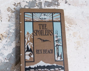 1906 THE SPOILERS Vintage Lined Notebook