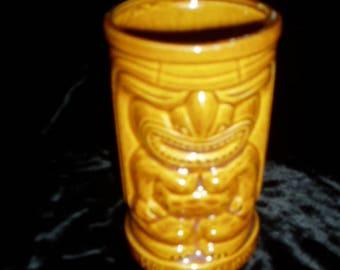 Vintage 60s ORCHIDS OF HAWAII Tiki Mug R91H