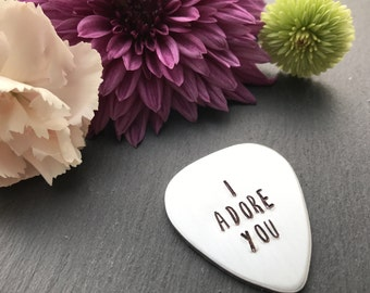 Personalised Guitar Pick - Gift for Him - Gift for Her - Personalised Gift - Guitar Pick - Customised Guitar Pick - Fathers Day Gift