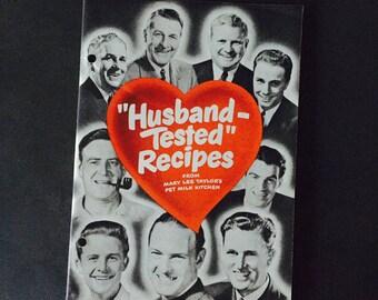 "Vintage Pet Milk Cookbook 1949, ""Husband Tested Recipes,""  Recipe Book"
