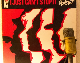 """ON SALE The English Beat Vinyl Record Album  1980s UK Ska New Wave 2 Tone Dance Hipster """"I Just Can't Stop It"""" (1980 Irs w/""""MIrror In The Ba"""