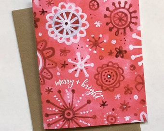 Merry & Bright Christmas Cards, Holidays, Assorted Pack Sizes