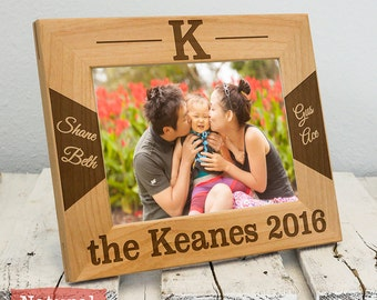 Personalized Family Frame - Family Name Gift- Family Christmas Gift-Christmas Decoration-Housewarming Gift - New Home Decor - New Home Gifts