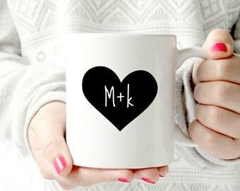 Personalized name Coffee Mug-Holiday Gift Mug-Custom Coffee Mug-Wedding Favor Mug-Anniversary Gift mug-Valentines Day mug-Wedding