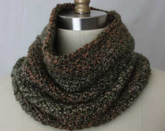 Snood in autumn colors, Unisex snood