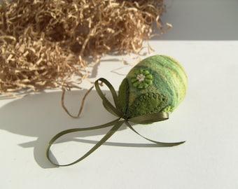 Easter Egg - Hanging Egg - Spring Egg Ornament - Holiday Decoration