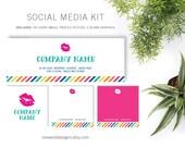 LipSense Colorful Stripe - Social Media Kit