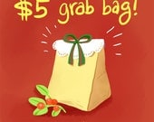 Awesome Deal Mystery Grab Bag - Assortment of Postcards, Bookmarks and a Surprise Gift