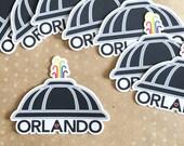 Orlando Love Vinyl Sticker