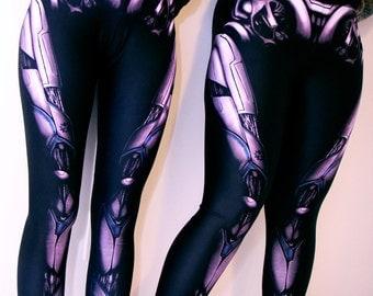Cyberpunk Android Leggings