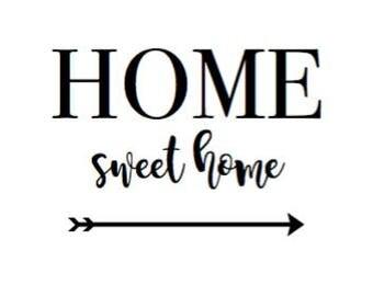Farmhouse Home Sweet Home Printable Wall Art