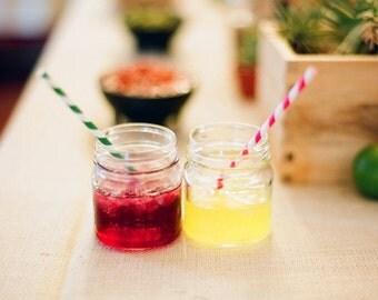 12 - 8 oz.mini jars