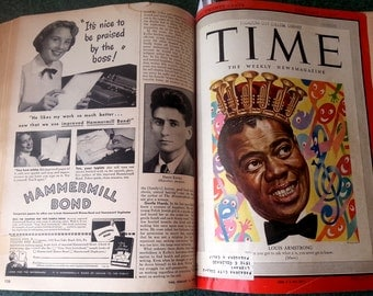 Time magazine bound collection 1949 January thru March