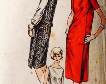 Vintage Vogue 6189 one piece dress, jumper or blouse