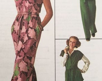 Misses Jiffy Dress or Top and Pants Simplicity 7746