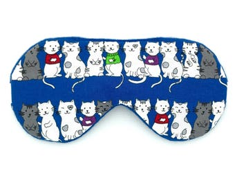 CATS Handmade sleep eye mask