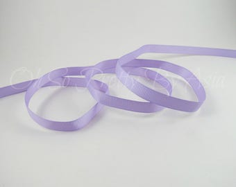 """Lavender Grosgrain Ribbon - Light Purple - Orchid - You Choose Length & Width - 3/8"""", 7/8"""", 1 1/2"""" - Bow, Scrapbooking, Sewing, Craft Supply"""