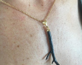 Black Coral, Coral Necklace, Hawaiian Coral Necklace, Black Coral Necklace, Hawaiian Necklace, Hawaii State Gem Black Coral, Gifts for Her