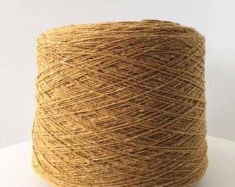 Tweed Yarn, Soft Donegal Tweed Yarn, Merino Wool, Yarn On Cone per 100 gr, Knitting Yarn, Machine and Hand knitting, Knollyarns