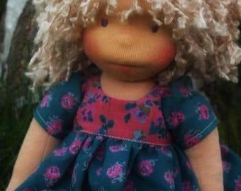 "Waldorf inspired doll called Sarah , 14"" tall"