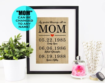Mother's Day Gift Idea Mothers Day from Daughter Gift Mom Gift for Mom| Mothers Day from Son| Mother Daughter Gifts| Home Gifts Mom Gift Mom