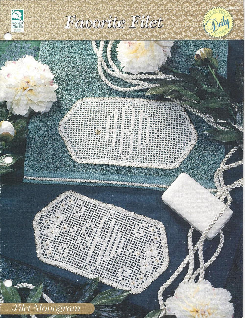 Filet Monogram Crochet Doily Pattern Cotton Thread Lace Home Decorators Catalog Best Ideas of Home Decor and Design [homedecoratorscatalog.us]