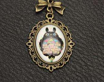 Totoro Necklace  1825C