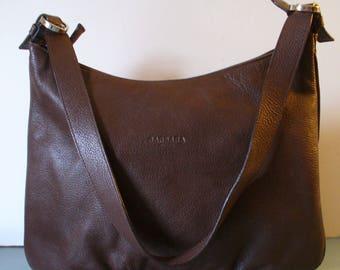 Vintage Made in Italy Barbara Milano Brown Shoulder Bag