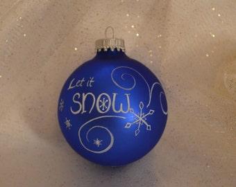 Hand painted Christmas Ball