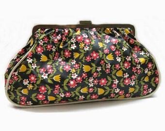 Vintage Toilet Bag Mid Century  | 60s - 70s Fashion Accessoires