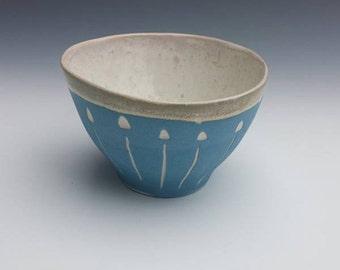 Blue Porcelain Espresso cup, demitasse cup, tea bowl, punch cup