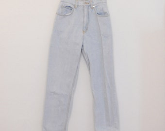 Light Blue High-Rise Jeans - Early 90s