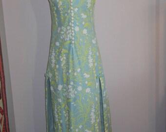 Lily Pulitzer / 1960s The Lilly Pulitzer Maxi Dress Pop Art Floral Shift dress Rare find!