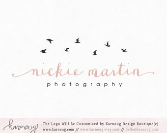 Birds Logo Photography Logo Boutique Logo Premade Logo Watermark Logo Business Logo Branding Logo Custom Logo Logos and Watermarks