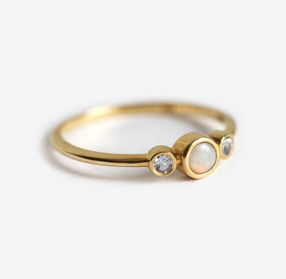 Delicate Tanzanite Ring