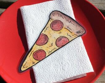 Pepperoni Pizza Slice Laminated Bookmark