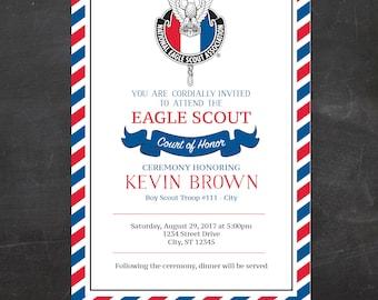 Eagle scout invites Etsy