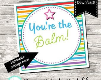 Selective image with you re the balm printable