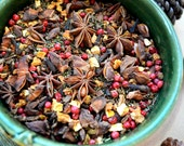 Yule Tea - Winter Solstice Tea - Winter Tea - Winter Solstice - Tea Lovers - Winter Gift - Rooibos - Orange Tea - Spiced Tea - Yule Gift