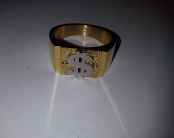 Grandma's Lucky Money Attractions Ring, Infused With Positive Energy
